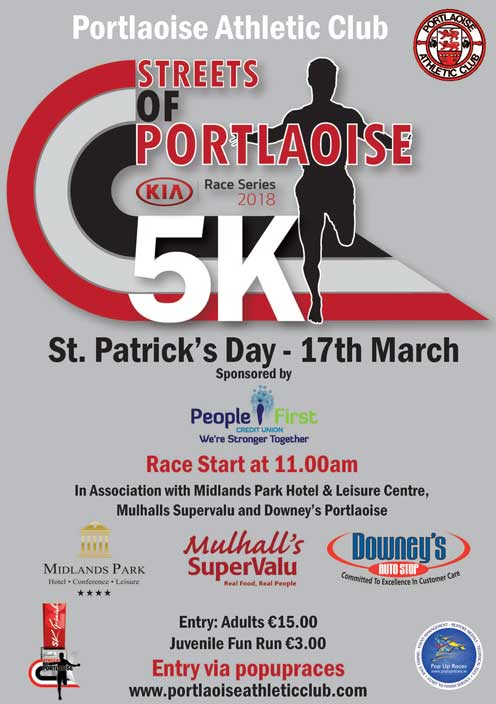 Streets of Portlaoise 5k 2018 LowRes