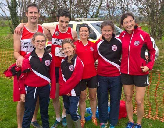 Portlaoise AC at Lenister Novice Cross Country 2017