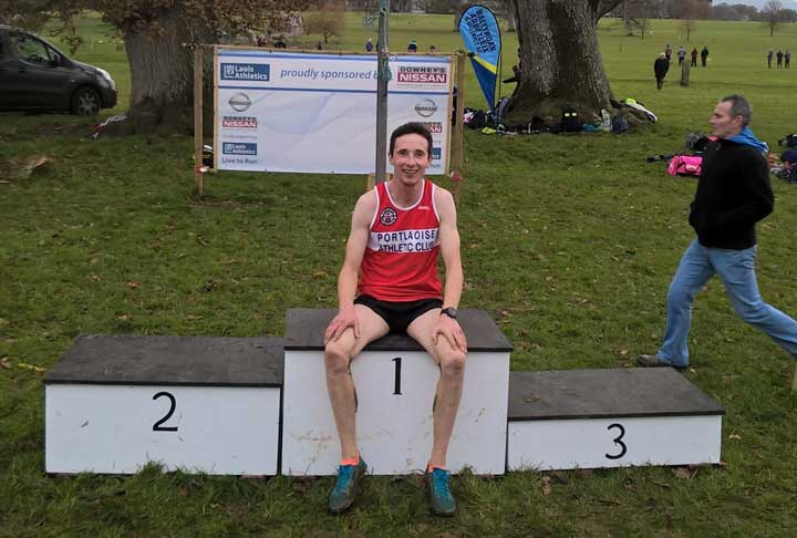 Harry Lupton Laois Senior XC Champion 2017