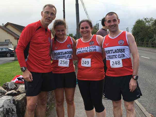 Joe and Amy Walsh Sinead Cutis and Niall Collins 4k Graiguecullen 2017