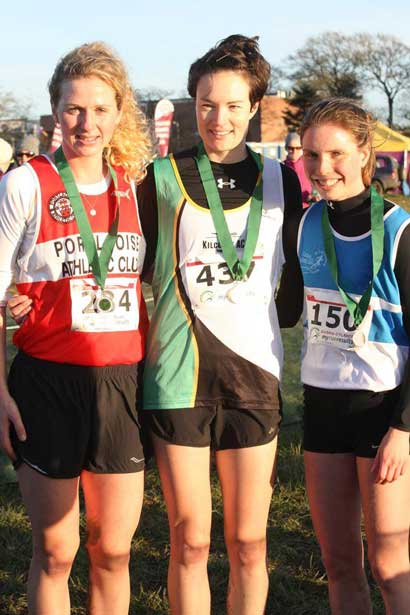 Mary Mulhare 2nd Place Leinster Senior XC 2017 Pic Credit Ballyroan Abbeyleix AC