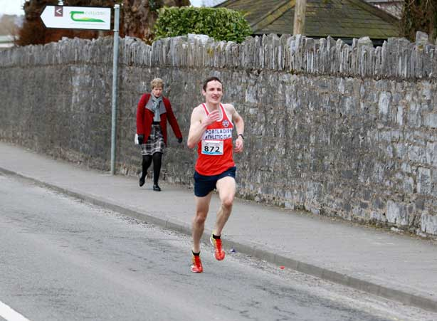 Tom Lupton Mallow 10Miler 2018 Pic Credit Joe Murphy