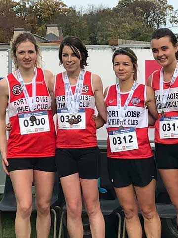 Portlaoise AC Ladies Bronze Team Laois Bronze XC Emo 2018