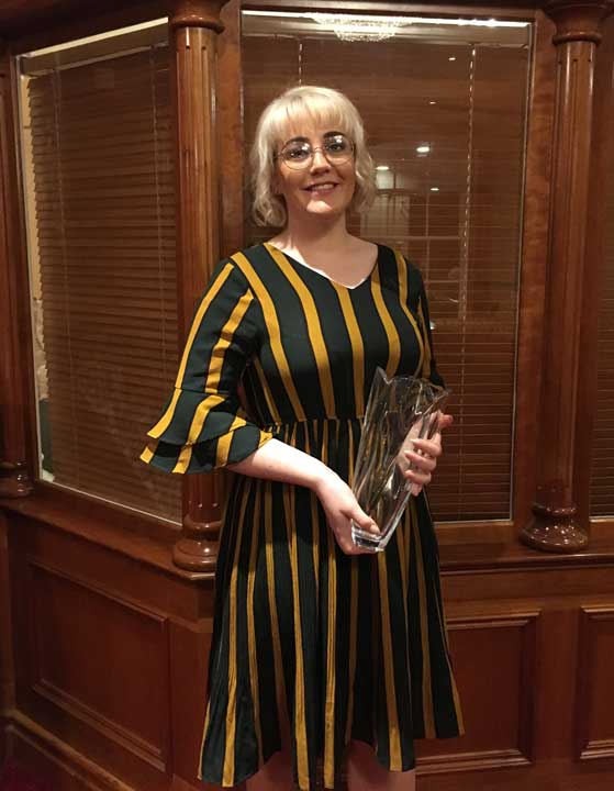 2.Seodhna Hoey Athletics Leinster Star Award 2017