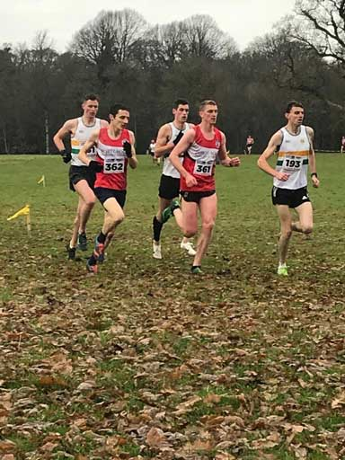Tom Lupton and David Mulhare Portlaoise AC Senior XC 2019