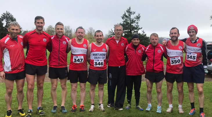 Portlaoise AC Winners at the Laois Masters XC Emo 2019