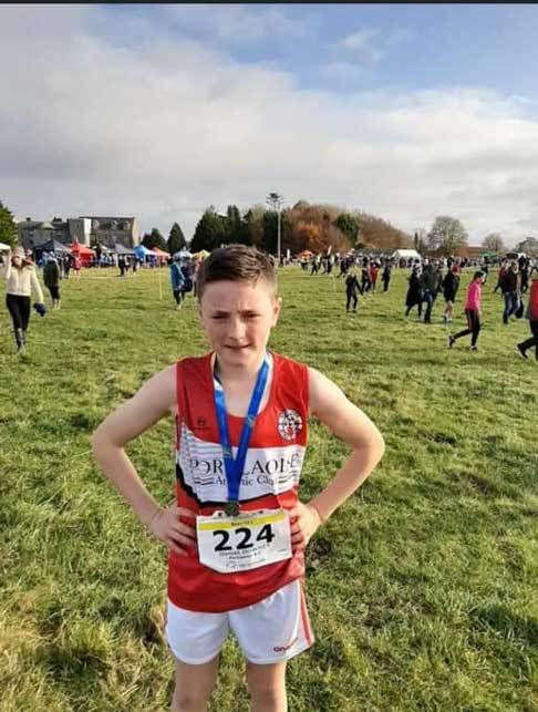 U11 Boys Gold Leinster XC Ferbane 2019