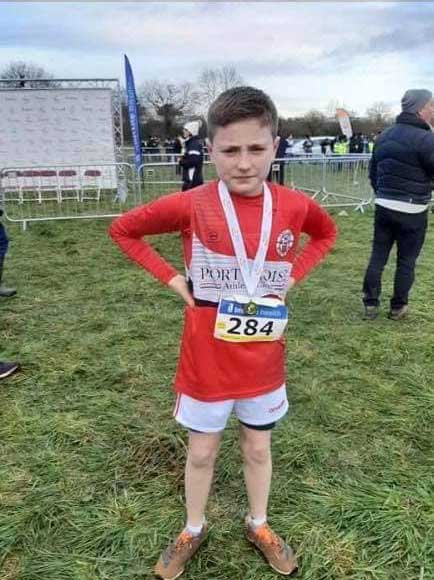 Daniel Downey U11 All Ireland XC Champion 2019
