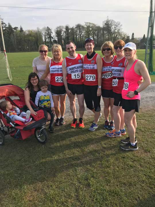 Portlaoise AC StMichaels Forest Run 2019