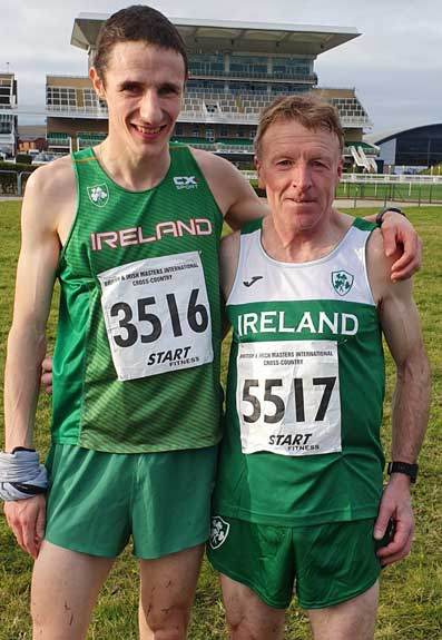 Tom Lupton and Aengus Burke Silver Medalists British and Irish Masters 2019