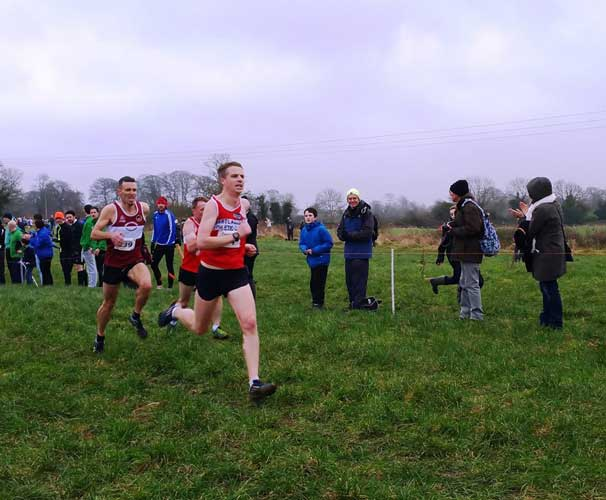 Colm Fitzgerald Leinster master XC 2017