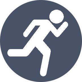 Running Logo Original